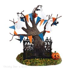 Halloween Village Halloween Town Tree 2015 Department 56 4044893 NIB