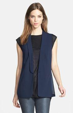 Trouvé Blazer-Style Vest available at #Nordstrom