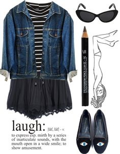 """""""stay happy"""" by elizaaross ❤ liked on Polyvore"""