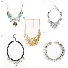 Fashion: Beautiful necklaces wishlist