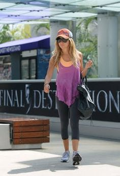 Ashley Tisdale Gym Fash