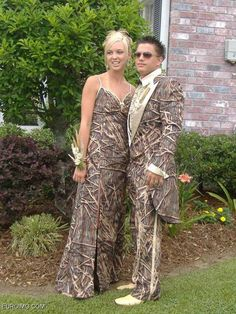 Camo Prom Dresses 2013. I really do wish this was a joke.