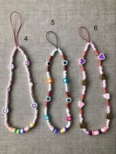 Bead Jewellery, Beaded Jewelry, Beaded Bracelets, Pulseras Kandi, Handmade Wire Jewelry, Cute Rings, Polymer Clay Beads, Summer Jewelry, Diy Necklace