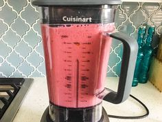 Cuisinart Hurricane Pro CBT 2000 Blender Review & Giveaway ~ http://steamykitchen.com