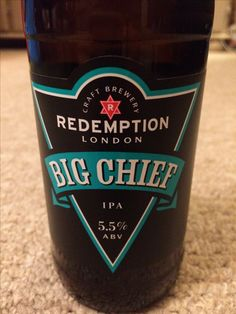 Big Chief IPA 5.5%, Redemption Brewing Co, London, Provided by Beerbods