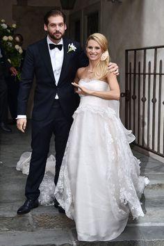 Tomaso Trussardi, Michelle Hunziker