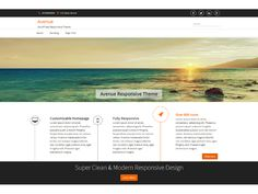 WordPress › avenue « Free WordPress Themes