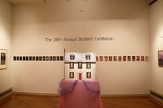 View of the 26th Annual Student Exhibition. May 17-June 5, 1994 (photo: Erik Borg)