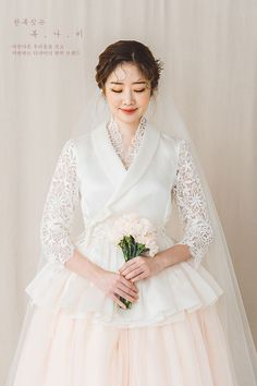 Korean Fashion – How to Dress up Korean Style – Designer Fashion Tips Korean Traditional Clothes, Traditional Fashion, Traditional Dresses, Korean Bride, Korean Wedding, Wedding Dress Styles, Wedding Gowns, Hanbok Wedding, Korea Dress