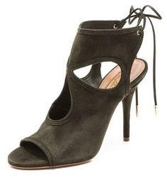 ShopStyle.com: Aquazzura Sexy Thing Cutout Sandals $495.00