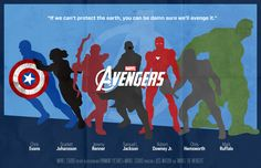 The Avengers Poster Series on Behance