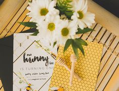 This honey bee first birthday party is showing us that a baby's birthday can have just as much style as anyone's bash! Did we mention it's SO adorable?