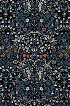 House of Hackney Blackthorn Wallpaper Bathroom Wallpaper, Print Wallpaper, Pattern Wallpaper, Art Nouveau Wallpaper, Asian Wallpaper, Funky Wallpaper, Artistic Wallpaper, Navy Wallpaper, Wallpaper Murals