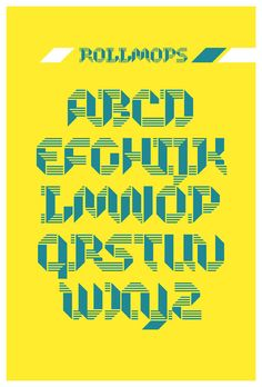 Typeface Rollmops (FREE) on Behance