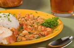 Magnolia Bar and Grill Crawfish Etouffee – it doesn't have to be Mardi Gras to enjoy a Cajun recipe.