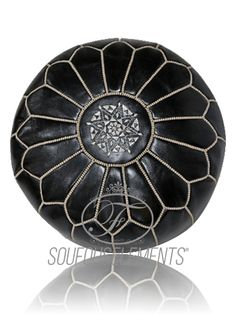 """Our poufs are delivered unstuffed due to weight, you can fill it with old clothes or cotton. It has a zipper in the bottom so you can fill it up or empty it easily each time you need to do so. We can stuffed for you if you don't mind pay an extra as shipping fees.  Add this exotic pouf to your home interior. With an affordable price, enjoy a work of art in your home or office for a relaxing view.  Size: Diameter: 50 cm (20"""") - Height: 30 cm (12""""). Zipper in the bottom."""