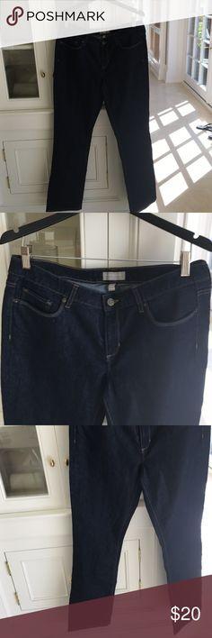 Banana Republic jeans Straight leg dark wash banana republic jeans.  Size 32/14. Banana Republic Jeans Straight Leg
