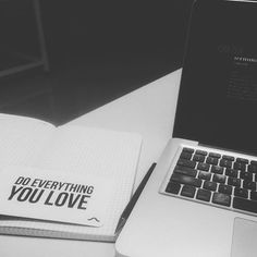 """""""Do what you love!! #photooftheday #instadaily #blacknwhite #macbookpro #rubberbandproducts"""" Photo taken by @yamacharya on Instagram, pinned via the InstaPin iOS App! http://www.instapinapp.com (08/31/2015)"""