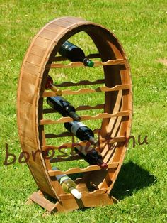 Bortartó Hordó 20-as Provence Style, Wine Rack, Storage, Gifts, Home Decor, Ideas, Products, Presents, Bottle Rack