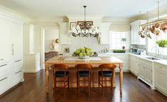 #Kitchen #Traditional White Kitchen