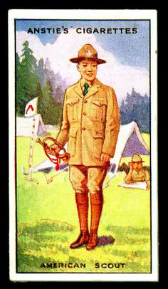Cigarette Card - Scout Series #36 | Flickr - Photo Sharing!