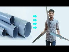 Easiest Method to Make Wind Turbine Propeller - YouTube