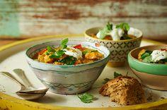 Lentil, tomato and spinach soup recipe | Jaimeoliver.com