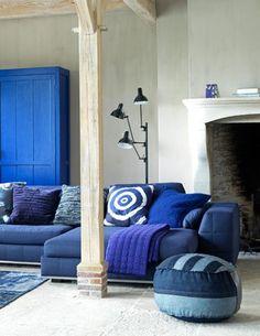 Jeans blauw! | Maison Belle
