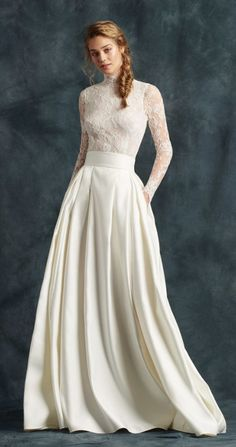 Featured Dress: Atelier Eme; Wedding dress idea.