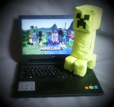 This #handmade #creeper is looking for an owner. Like any other #plushie is filled with nice #soft stuffing and is extremely #fun to squeeze. Take it home! #minecraft #gamelover #gaming #plushtoy #softtoy #cotton #gamer #mc #mcpe #mcpc #creepers #nerd #nerdlife #forsale #madewithlove #shopper #shopping #instagood #instagame