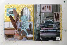 Anne Jasmijn : Casual Friday #Collage #Ferret