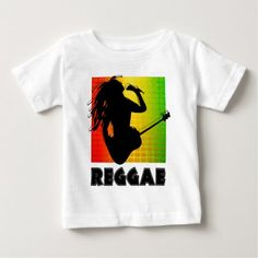 Reggae Music Rasta Rastaman Guitar Toddler T-Shirt - tap, personalize, buy right now! Rasta Music, Reggae Music, Music Guitar, Playing Guitar, Consumer Products, Basic Colors, Cotton Tee, Cool Stuff, Stuff To Buy