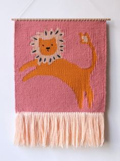 Tissage lion, chaumo