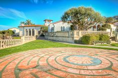 The Neighborhood Church (Labyrinth) Rancho Palos Verdes, California