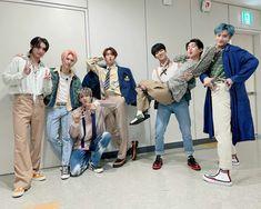 Pentagon Members, Fandom, Pants, Kpop, Pentagon Hongseok, Twitter Update, Group Photos, Seokjin, Champion