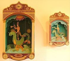 The Heart Revealed  DIY Paper Theatre by LittleRobot on Etsy