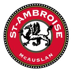 St-Ambroise beer. McAuslan is a quebec microbrewery that brew excellent beer like the St-Ambroise stout. I'm very proud to know that this awesome beer comes from Quebec :). I always have some in my fridge.