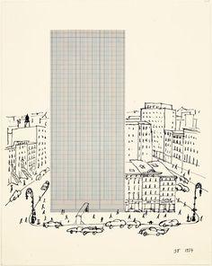 Graph Paper Architecture, 1954