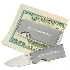 Chevrolet Knife / Money Clip