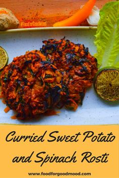 Curried Sweet Potato & Spinach Rosti is very rich in vitamins, minerals and endless benefits. It works as super healthy …