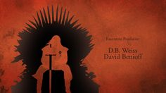 A motion graphics project based on the HBO series: Game of Thrones