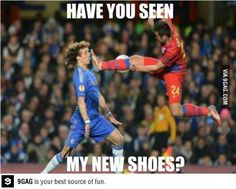 Have you seen my new shoes?