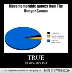 Most memorable quotes from THG