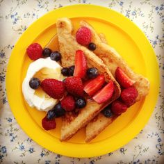 baby friendly french toast
