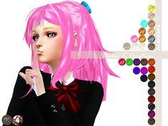 Animate hair 31 Reika at Studio K-Creation • Sims 4 Updates