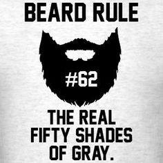"Beard rule no. ""To be the man you've gotta beard the man."" Beard up! I Love Beards, Great Beards, Awesome Beards, Beard Logo, Beard Quotes, Beard Tips, Beard Ideas, Beard Humor, Beard Gang"
