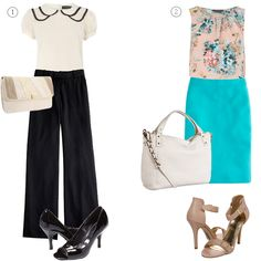 summer work styling {outfits from Dorothy Perkins styled by WorkChic}