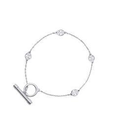 Tory Burch Logo Toggle Bracelet