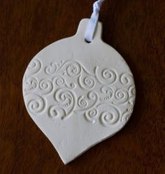 """Grace Designs: for """"how to"""" go to http://rosalindgracedesigns.blogspot.com/2011/11/self-drying-clay-christmas-decorations.html"""