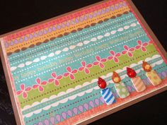 birthday candles  birthday card by RationalDesigns on Etsy, $2.75